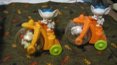 Pinky & the Brain lazer rolling toys - 2