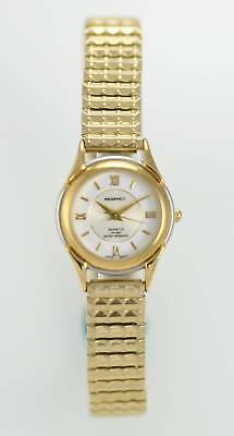 Regency Woman's Two Tone Stainless Steel Band Water Resistant Quartz Watch