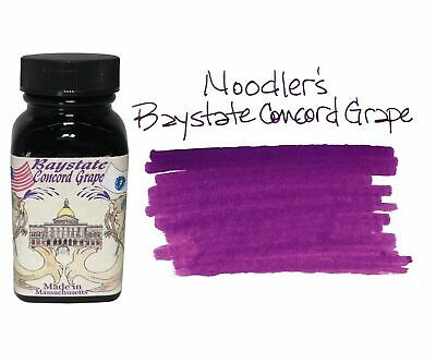 Noodler's Fountain Pen Ink - 3oz Bottle - 19049 - Baystate Concord Grape
