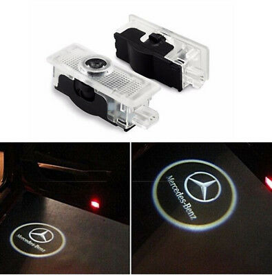 2x LED Logo Door Courtesy Shadow Project Light for Mercedes E-Class A207 CLA CLS