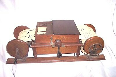 Mechanical Organette Roller Organ - Organette -  Music Box - Needs Work ?