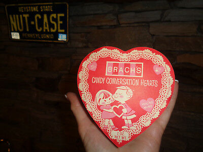 Brach's Candy Conversation Valentine's Day Hearts Candy Box You're Mine-Kiss Me