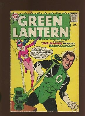 Green Lantern 26 GD 2.0 * 1 Book Lot * Star Sapphire! Gardner Fox & Gil Kane!