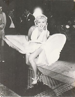 Vintage MARILYN MONROE Publicity PHOTO Seven Year Itch FLYING SKIRT 10in x 8in