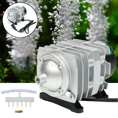 45L/min 25W Electromagnetic Air Compressor Aquarium Oxygen Pond Air Pump