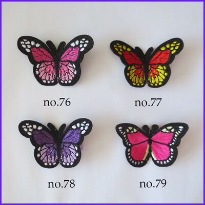 50 Embroidery Ultrasonic Embossing Pearl Butterfly B-Clip Accessories Wholesale