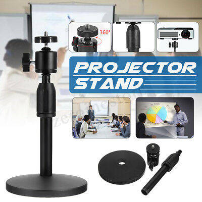 Portable Adjustable Projector Laptop Camera Table Stand Mount Height