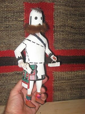 HOPI ETOTO CHIEF KACHINA NATIVE AMERICAN INDIAN KATSINA DOLL c1975! LOW START