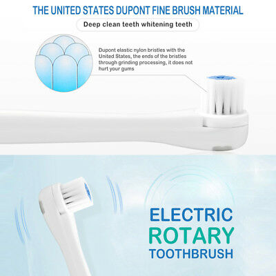 Portable Sonic No Rechargeable Electric Toothbrush With 3 Brush Heads nh12