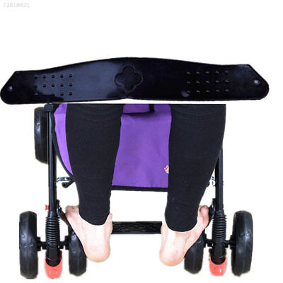 82B6 77DA Compact Foot Rest Black Baby Buggy Baby Carriage Stroller Accessories
