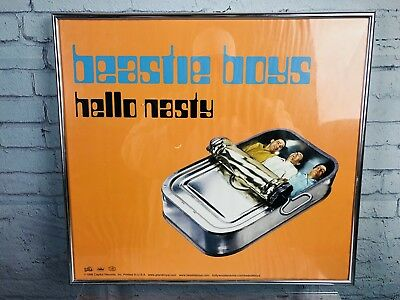 Beastie Boys Hello Nasty 1997 Framed Picture Original