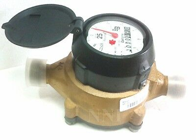 "Badger Model 25 Water Meter 5/8"" US Gallon Lead Free Fast Free Shipping"