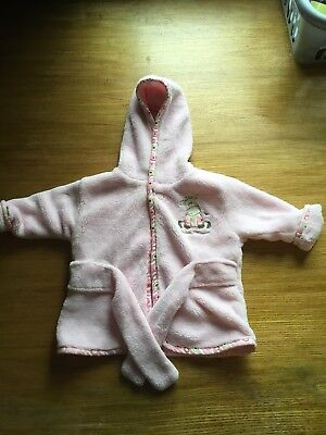 baby girl dressing gown 0-3