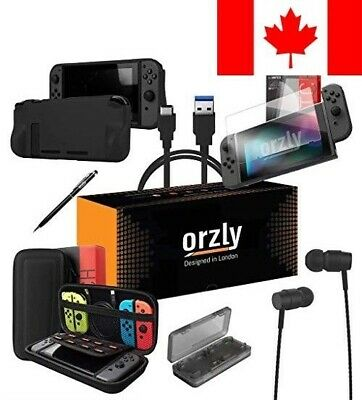 Switch Accessories, Orzly Essentials Pack for Nintendo Switch (Bundle Include...