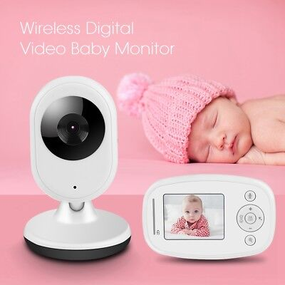 2.4GHz Wireless Digital Color LCD Baby Monitor Camera Night Vision Audio Video