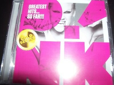 Pink Greatest Hits So Far Best - (Gold Series) (Australia) 21 Track CD - New