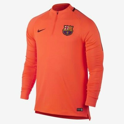 NEW €65 Nike FC Barcelona Fußball Football Drill Top shirt L Squat