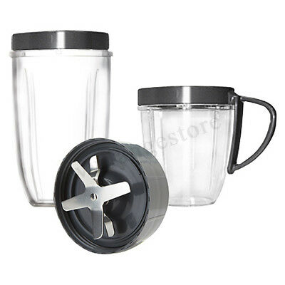 AU Extractor Blade Mix Cup Flip Lid Base Gear Nutri 600W 900W Magic Bullet Home