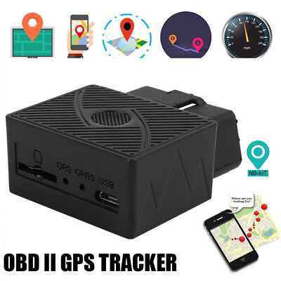 OBD II GPS Tracker Real Time Vehicle Tracking Device for Car Truck Locator