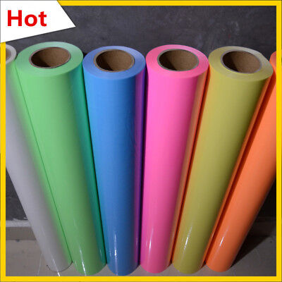 Glow in the Dark IRON-ON Heat Transfer Vinyl More Color For T-shirt Glow A4 Size