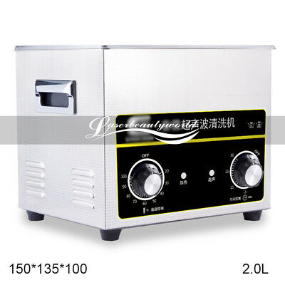 Stainless Steel Ultrasonic Parts Digital Dental Cleaner Sonic Cleaning Equipment