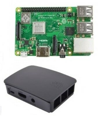 RASPBERRY Pi 3 Model B Plus With Official Black Case