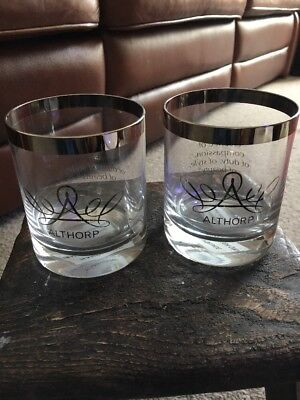 Two Lovely Althorpe Glasses
