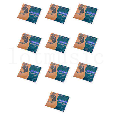 """10 Sets Acoustic Guitar Strings .010-.047"""",Super Light for Yamaha Replacement"""