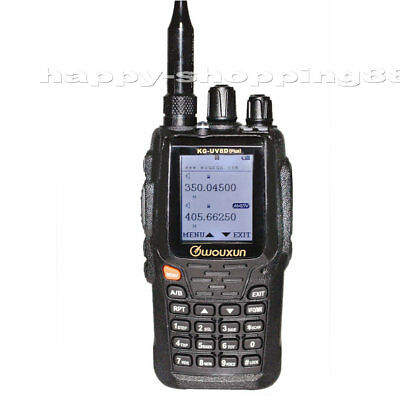 Wouxun KG-UV8D Plus, Walkie Talkie UHF/VHF Duplex-CrossBand Repeater 2-Way Radio