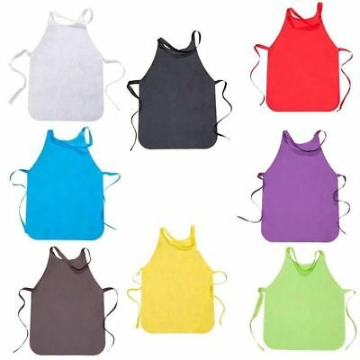 Latest Cute Perfect Plain Apron Latest Hot Cooking Baking Gift Kids Crafts UK