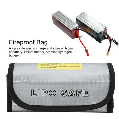 Fireproof RC LiPo Battery Explosion-Proof Safety Bag Safe Guard Charge Sack