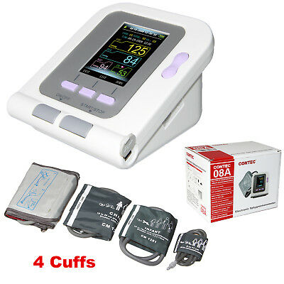 Electronic Sphygmomanometer blood pressure Neonatal/Infant/Child/Adult 4 cuffs