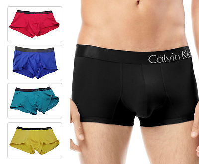 Calvin Klein Men's Boxer Trunk U8908 CK Bold Low Seamless Underwear Low