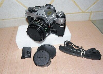 Canon Ae-1 Program Camera With 50Mm Fd Lens - No Reserve