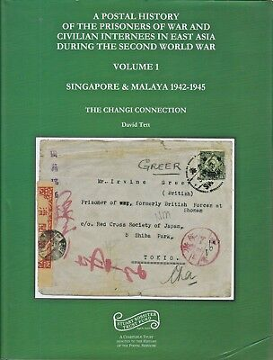 """POSTAL HISTORY OF POW's IN E. ASIA DURING WW2 Vol.1: """"The Changi Connection"""""""