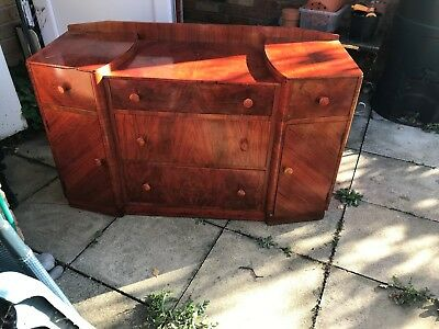 Retro Antique Dresser/Side Cabinet Solid wood collection only