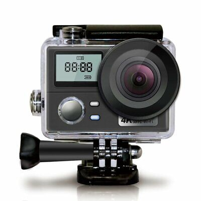 Action Camera 4K WiFi Waterproof Sports Remote Helmet Cam HD 1080P Bike 1080P