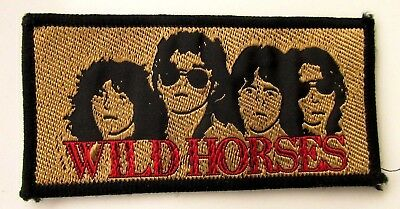WILD HORSES (THIN LIZZY RAINBOW) VINTAGE SEW ON PATCH FROM 1970's/80's  ROBBO