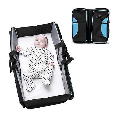 Primo Passi Nido All-in-One Portable Baby Bassinet Diaper Bag + Changing Pad Mat