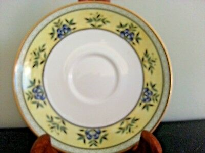 """Minton Ashworth 1993 Saucer 5.75"""", Fine Bone China Made, In England 3 Available."""