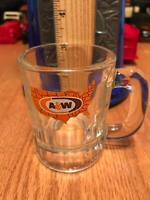 Nice A&w Root Beer Minature Advertising Mug 4.5""