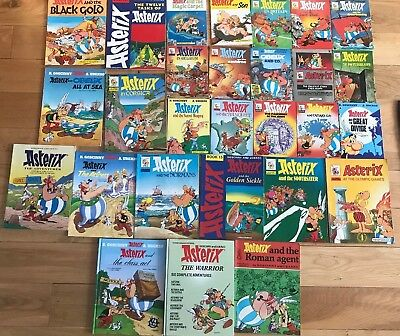 Complete Collection Of Asterix Adventures Pdf In English 33 Books