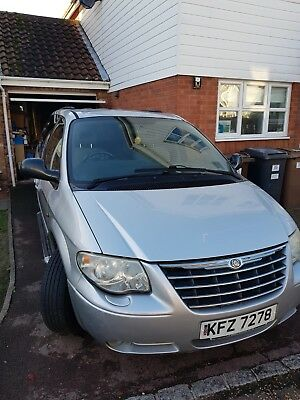 Chrysler grand voyager exec XS CRD stow and go 2007
