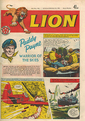 LION COMIC - 13th May 1961