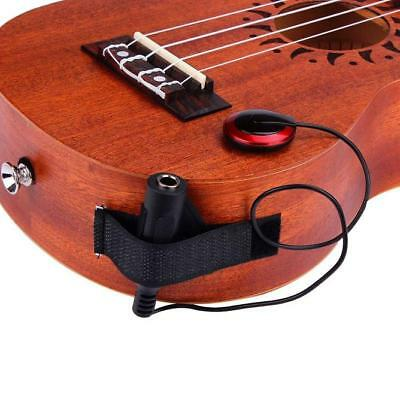 Acoustic Piezo Contact Microphone Pickup for Guitar Violin Mandolin Ukulele_A