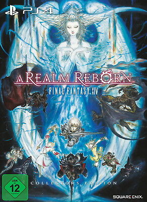 Final Fantasy XIV Online: A Realm Reborn - Collector's Edition PS4 Neu & OVP