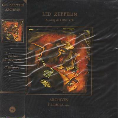 LED ZEPPELIN ARCHIVES 1969 AS LONG AS I HAVE YOU CD MINI LP OBI+Booklet