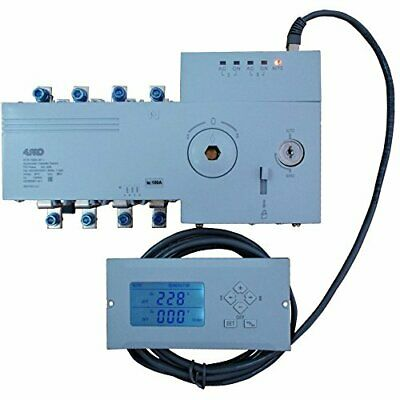 4PRO ATS-100A, 4P-i Automatic Transfer Changeover Switch, 100A, 230/400V, 50/60H