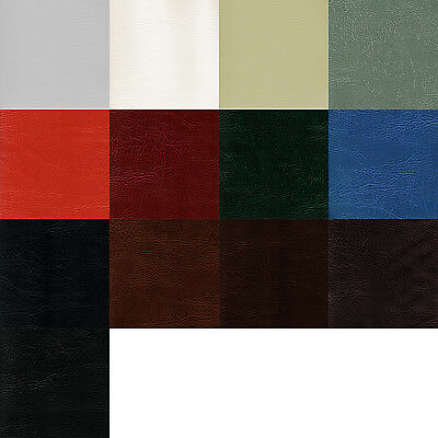 Faux Leather Vinyl Leatherette Cloth Fabric Upholstery FR - sold by the metre