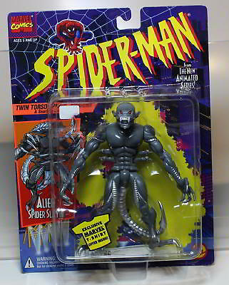 Alien Spider Slayer aus Spider-Man von TOY BIZ 1994 MOC
